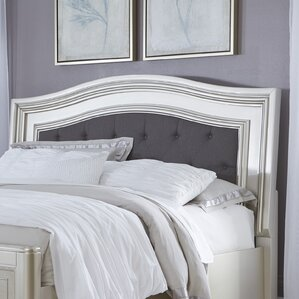 Gasser Upholstered Panel Headboard by House of Hampton