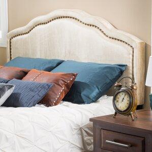 Velvet King Upholstered Panel Headboard by Mercer41