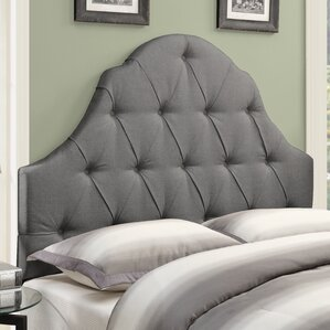 Redfield Upholstered Panel Headboard by Three Posts