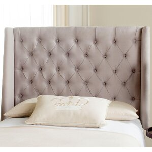 Trenton Upholstered Wingback Headboard by Darby Home Co®