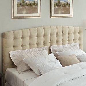 Malvern King Upholstered Panel Headboard by Alcott Hill®