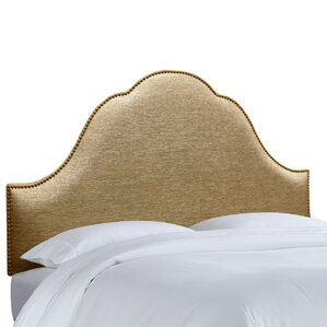 Brighton Nail Button Upholstered Panel Headboard by House of Hampton