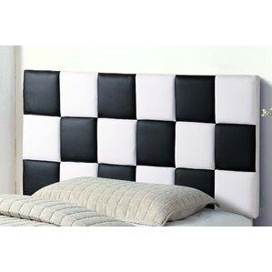 Upholstered Panel Headboard by BestMasterFurniture
