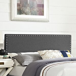 Phoebe Queen Upholstered Panel Headboard by Modway