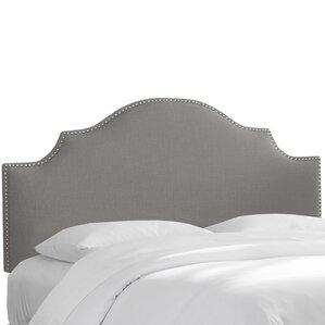 Amesbury Linen Upholstered Panel Headboard by House of Hampton