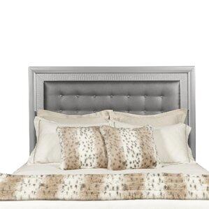 Lasne Low Profile Upholstered Panel Headboard by House of Hampton
