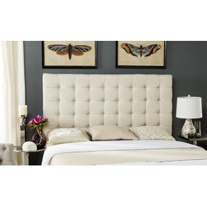 Andrea Woods King Upholstered Panel Headboard by Alcott Hill®