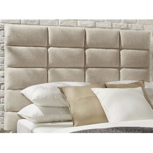 Breland Upholstered Panel Headboard by Mercury Row®