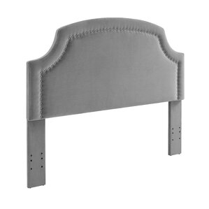 Madigan Upholstered Panel Headboard by House of Hampton