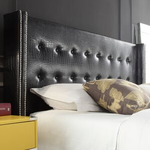 Kerns Upholstered Wingback Headboard by House of Hampton