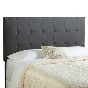 Dublin King Upholstered Panel Headboard by Alcott Hill®