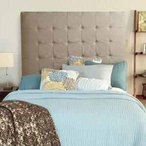 Franklin Square Linen Upholstered Panel Headboard by Brayden Studio®