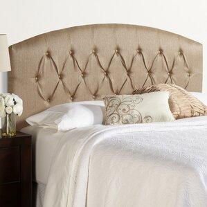 Kara Curved Upholstered Panel Headboard by House of Hampton