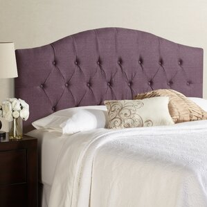 Kara Hanover Arched Upholstered Panel Headboard by House of Hampton