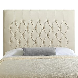 Myrtille Upholstered Panel Headboard by Lark Manor