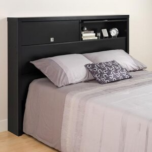 Designer Series 9 Bookcase Headboard by Prepac