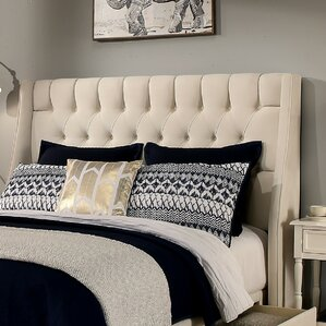 Cambridge Upholstered Wingback Headboard and Bench by Republic Design House