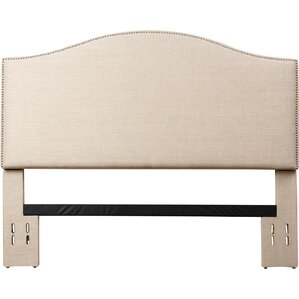 Hagen Upholstered Panel Headboard by House of Hampton