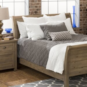 Cannes Sleigh Headboard by Laurel Foundry Modern Farmhouse