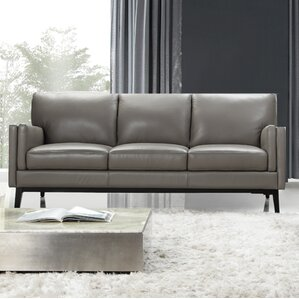 Osman Full Top Grain Leather Sofa By Moroni Best Reviews