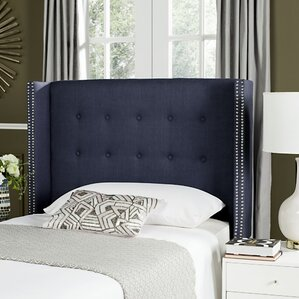 Rittman Twin Upholstered Wingback Headboard by Darby Home Co®