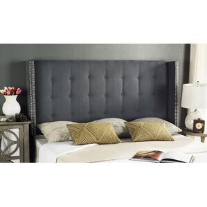 Rittman Upholstered Wingback Headboard by Darby Home Co®