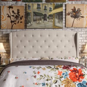 Nielsen Upholstered Wingback Headboard by Darby Home Co®