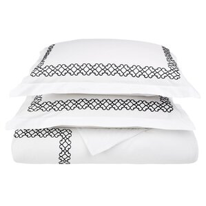 Superior Best Place To Buy A Comforter #6: Clayton+3+Piece+Embroidered+Reversible+Duvet+Cover+Set.jpg