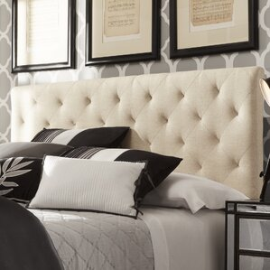 Brendle Upholstered Panel Headboard by Mercury Row®