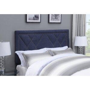 Garnes Upholstered Panel Headboard by Mercury Row®