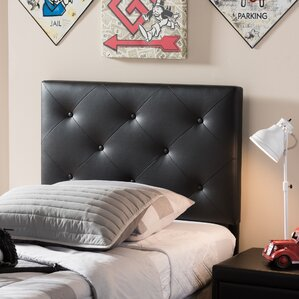 Ray Twin Upholstered Panel Headboard by Latitude Run