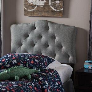 Ethan Twin Upholstered Panel Headboard by Latitude Run