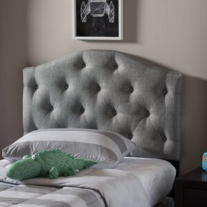 Illinois Twin Upholstered Panel Headboard by Latitude Run