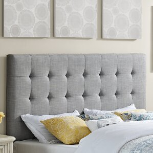 Alter Upholstered Panel Headboard by Mercury Row®