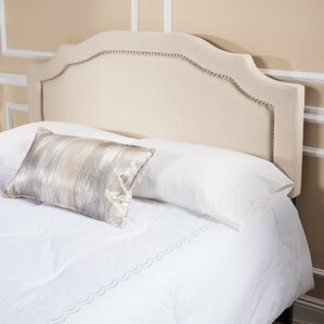 Bayle Full/Queen Upholstered Panel Headboard by House of Hampton