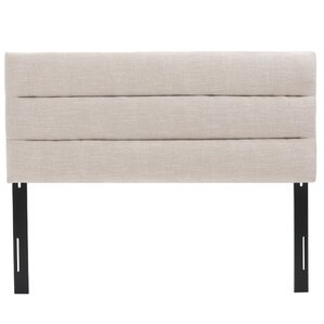 Knisely Full Upholstered Panel Headboard by Varick Gallery®