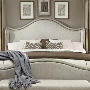Clevinger Upholstered Wingback Headboard by Astoria Grand