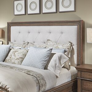 Macgregor Upholstered Panel Headboard by Rosalind Wheeler