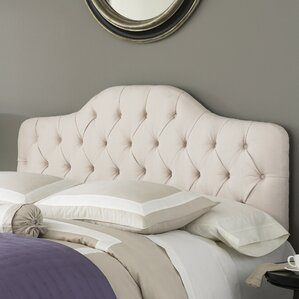 Hanley Upholstered Panel Headboard by Three Posts