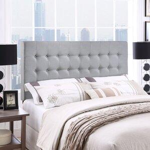 Gigi Queen Upholstered Panel Headboard by Zipcode™ Design
