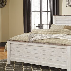 Marguerite Panel Headboard by August Grove®