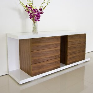 Elegant Thite Sideboard By Pangea Home Reviews