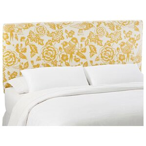 Slip Cover Canary Upholstered Panel Headboard by Skyline Furniture