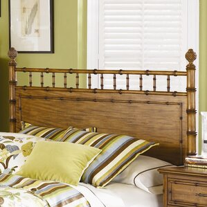 Palm Bay Wood Panel Headboard by Magnussen Furniture