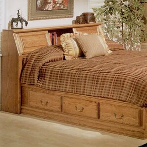 Country Heirloom Bookcase Headboard by Bebe Furniture