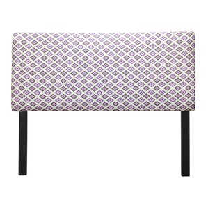 Ali Carnival Grape Upholstered Panel Headboard by Sole Designs