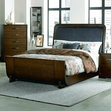 Upholstered Panel Bed by Wade Logan