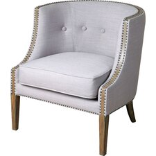 Gamila Accent Barrel Chair by Uttermost