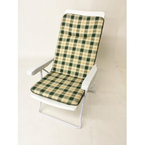 Piped Reversible Recliner Cushion