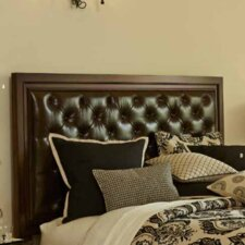 Bella Cera Upholstered Panel Headboard by Michael Amini (AICO)